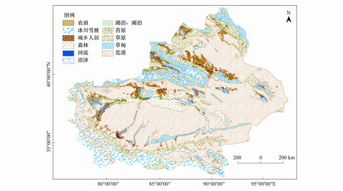 自然生态系统利用中国1